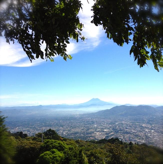 Desde el Volcán de San Salvador